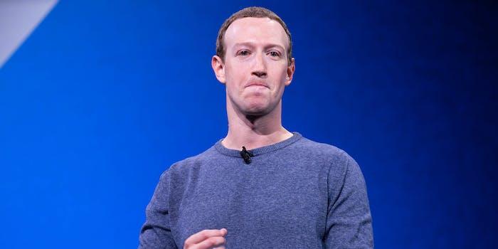 Mark Zuckerberg Facebook Donald Trump Meetings