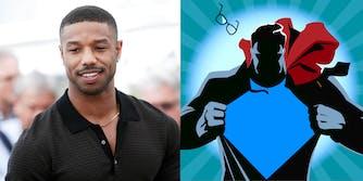 Michael B. Jordan - Superman