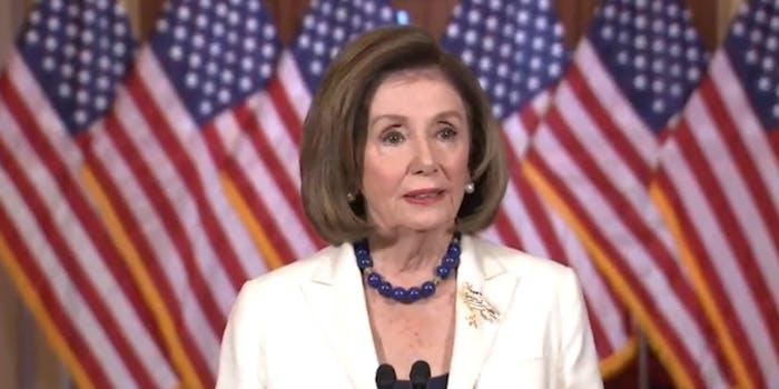 Nancy Pelosi Articles of Impeachment Donald Trump