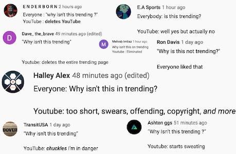 PewDiePie - Rewind 2019 comments