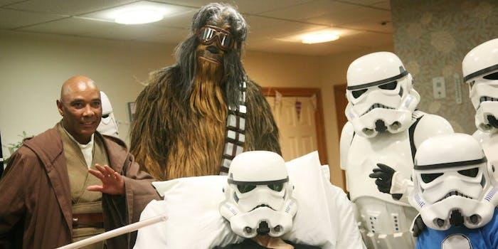 Dying fan star wars rise of Skywalker