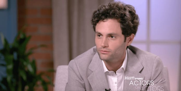 penn badgley you evil white man