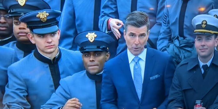 West Point white supremacy hand symbol