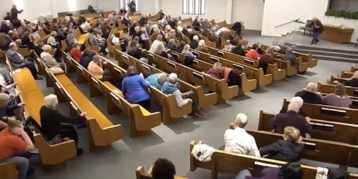 White Settlement church shooting video