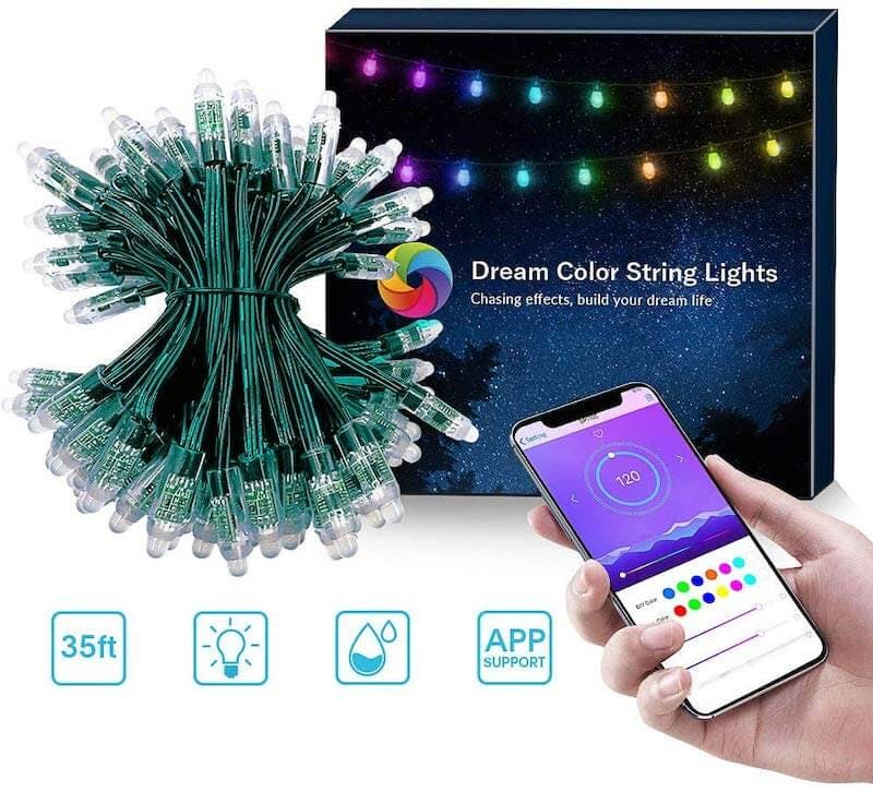 app controlled christmas lights - elight