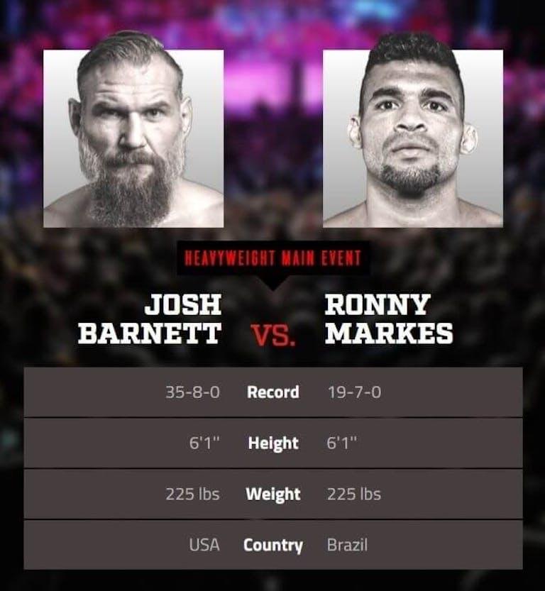 Barnett vs Markes Bellator Salute DAZN