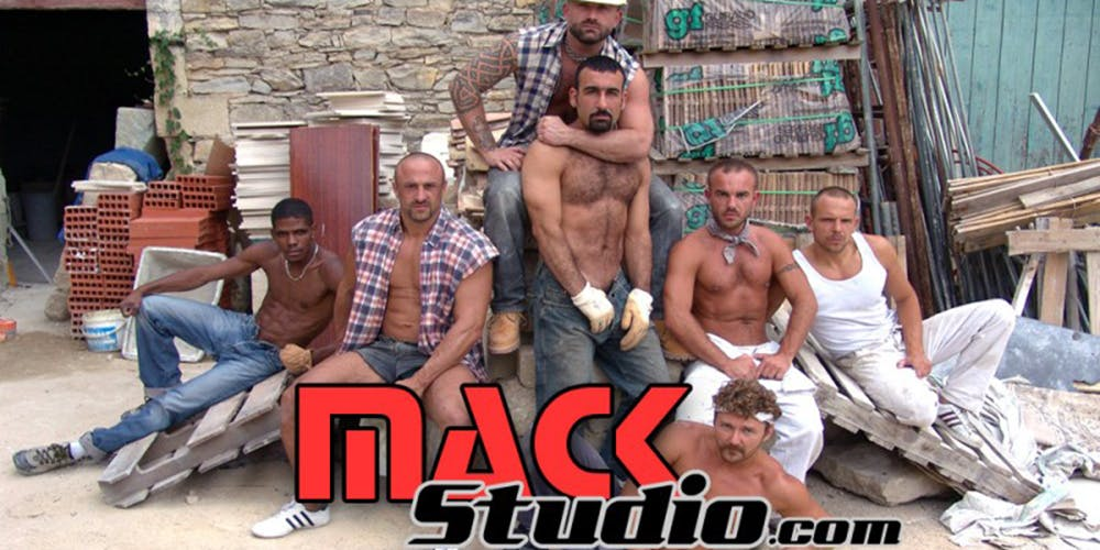 best gay army porn - mack studio