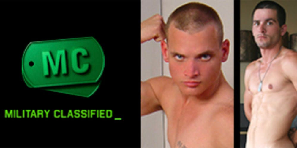 best gay army porn - military classified