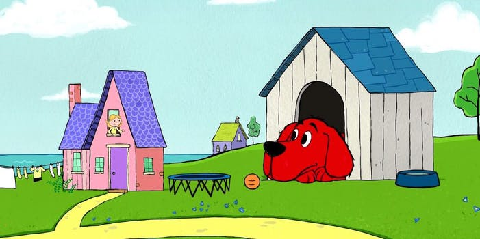 Clifford the Big Red Dog and Emily Elizabeth