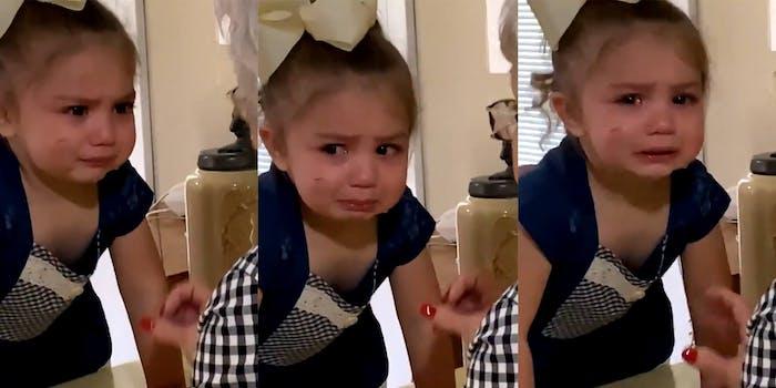 crying girl meme