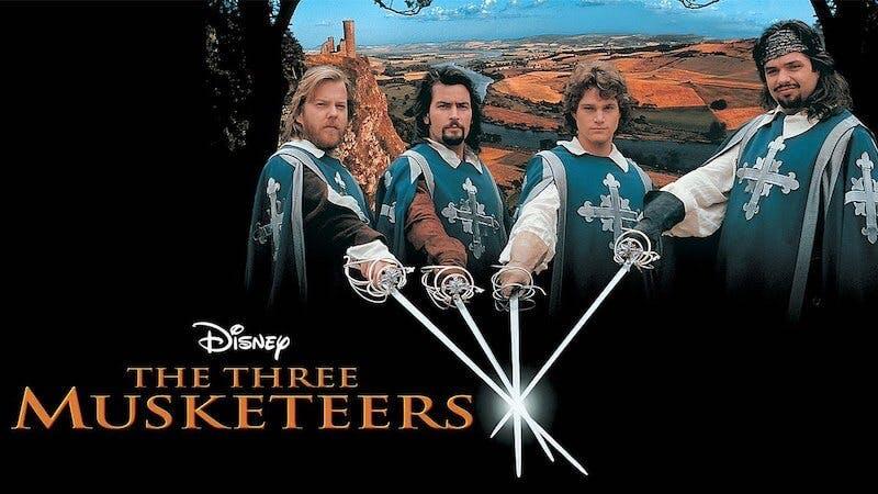 disney plus hidden gems - the three musketeers