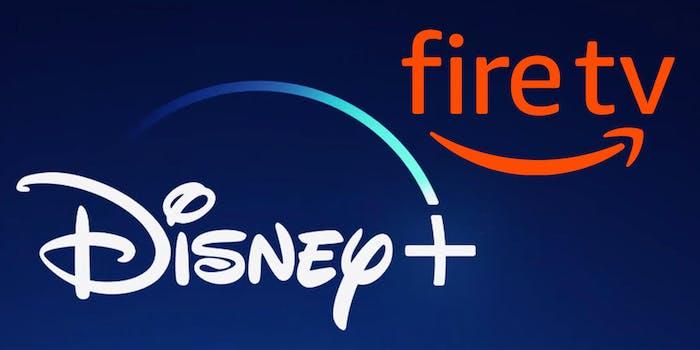 disney plus amazon fire smart tv