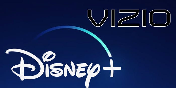 Disney Plus vizio smart tv