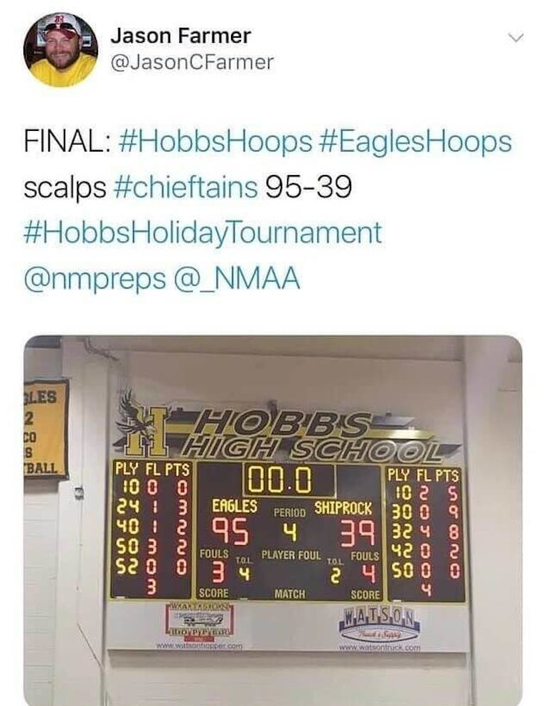 eagle hoops scalps chieftains