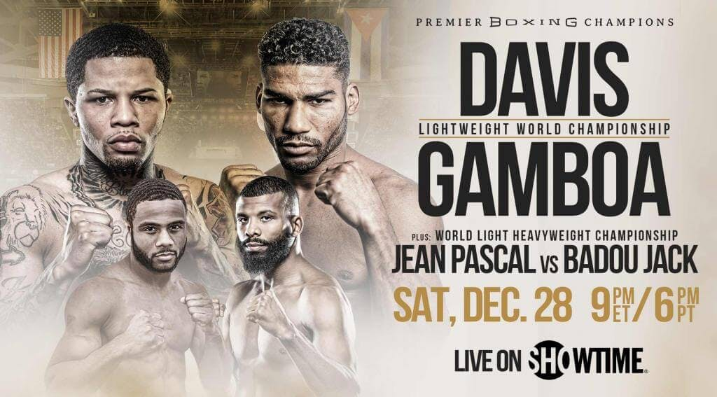 Gervonta Davis vs Yuriorkis Gamboa live stream Showtime