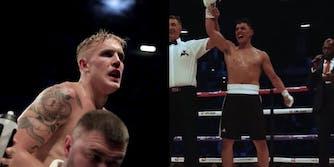 Jake Paul vs Gib boxing match DAZN