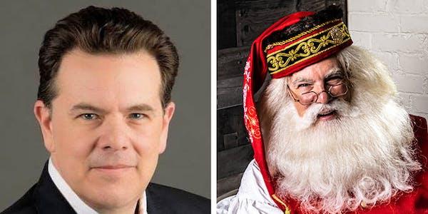 Michael Rielly as Santa Claus (ClausNet)