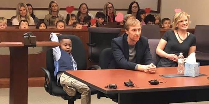Michigan boy adoption kindergarten