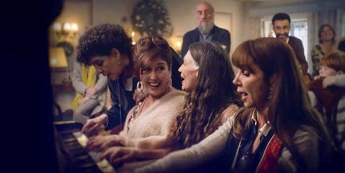 movie review netflix - three days of christmas