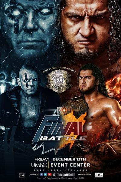 ROH Final Battle live stream poster