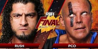ROH Final Battle Rush vs PCO live stream
