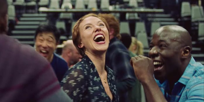 Scarlett Johansson dancing memes