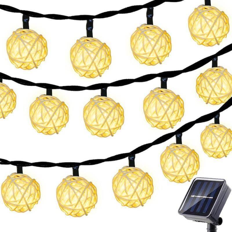 solar powered christmas lights - betus