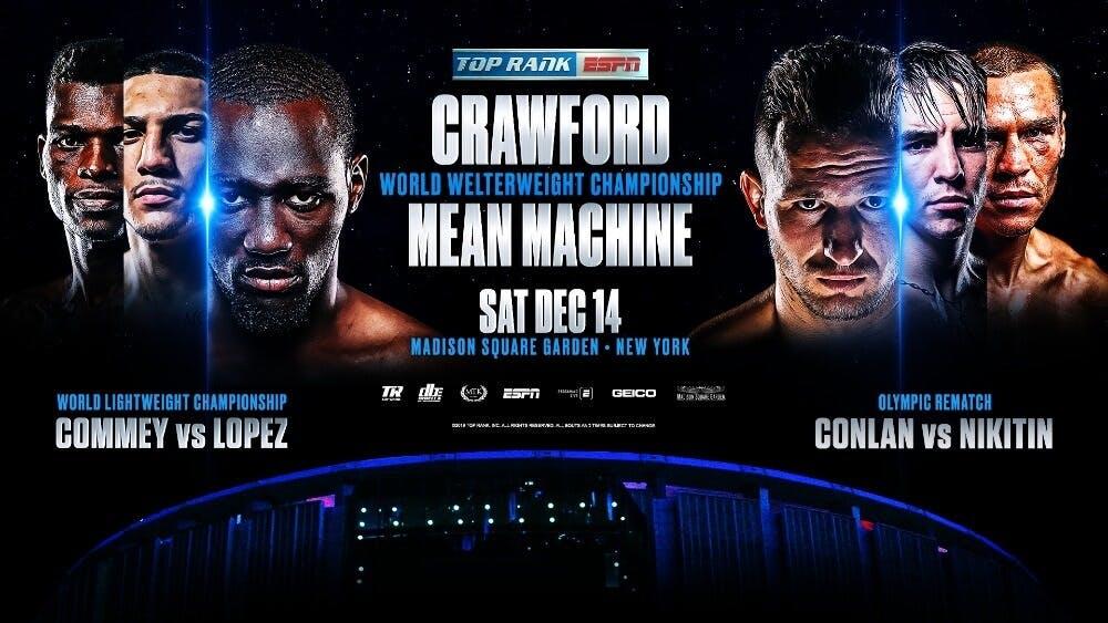 Terence Crawford vs Mean Machine live stream ESPN