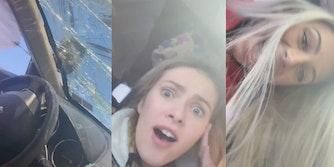 tiktok teen car crash
