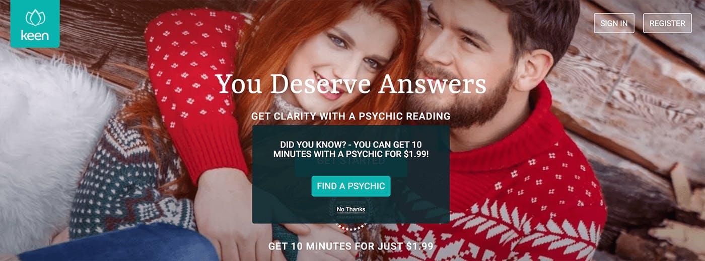 keen psychic reviews