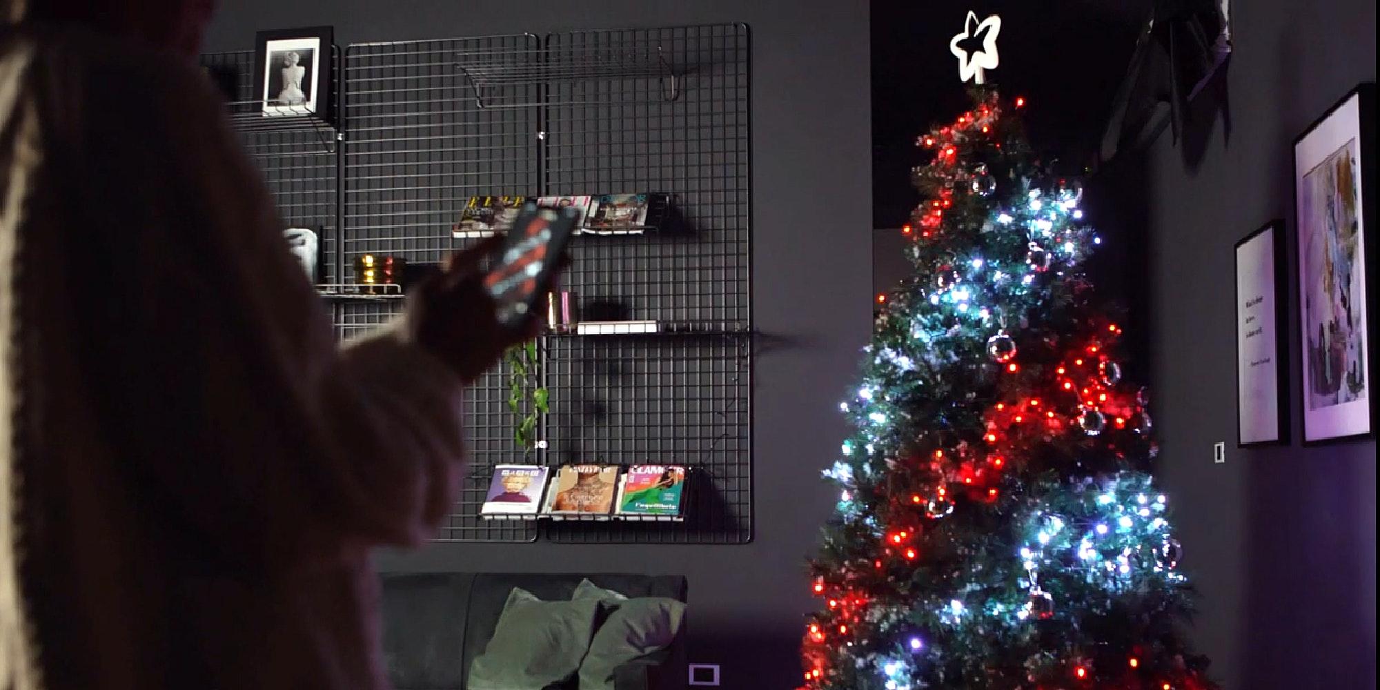 Christmas Tree Decoration Lights Custom LED String Lights App Remote Control US