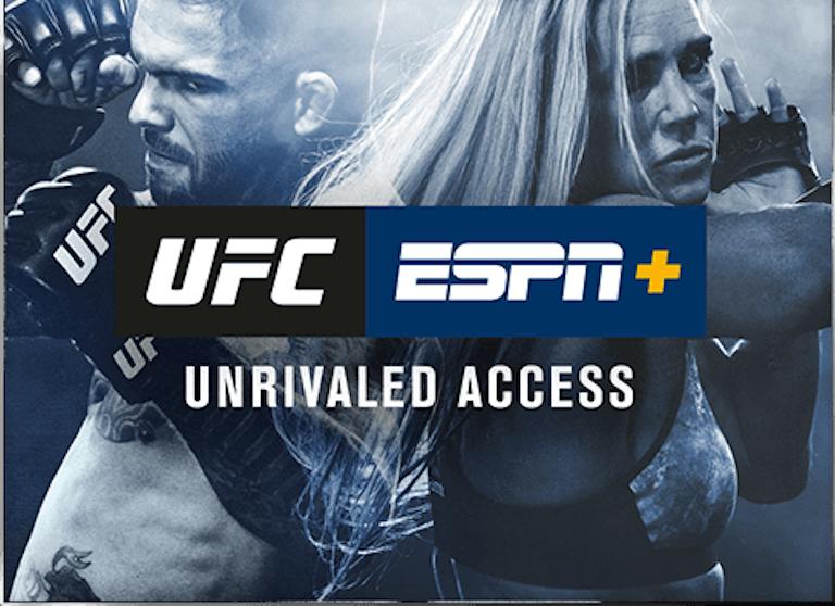 UFC app ESPN Plus UFC 245