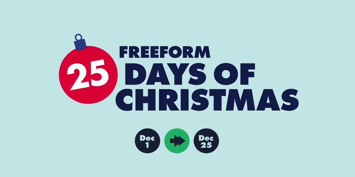 watch 25 days of Christmas