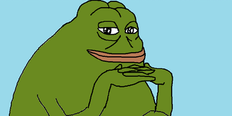 pepe the frog groyper meme