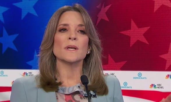 marianne williamson debate nbc