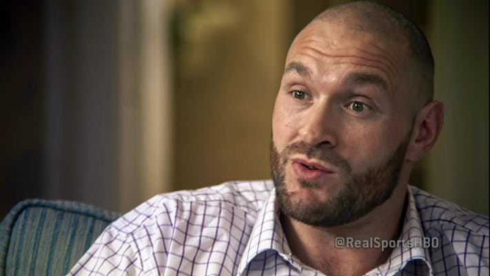 youtube documentaries : real sports Tyson fury