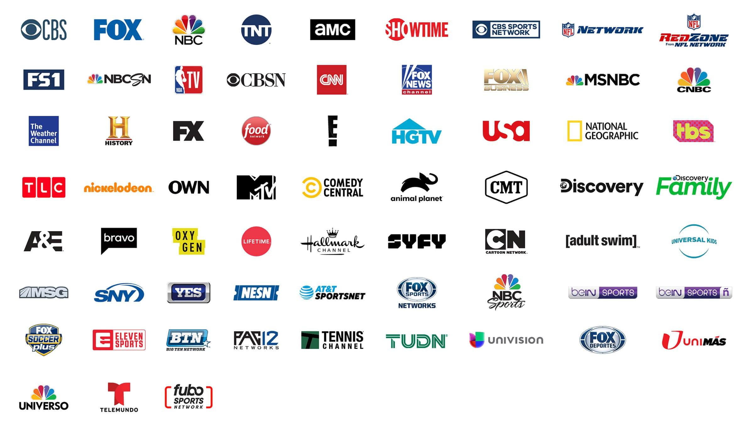 FuboTV channels