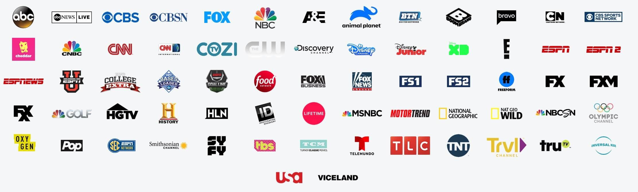 Hulu with Live TV channel
