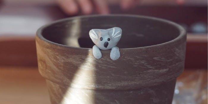 A clay koala made by Owen