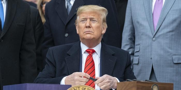 Donald Trump Impeachment Senate Acquitted