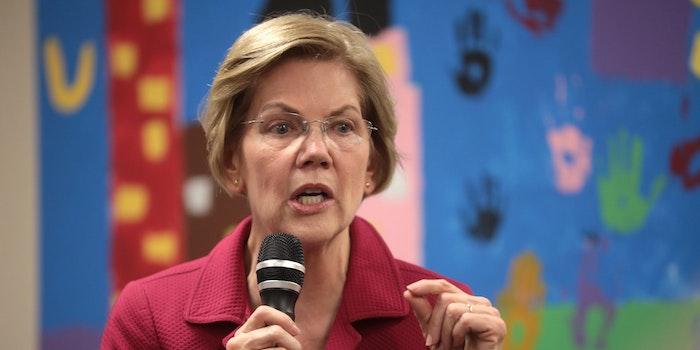 Elizabeth Warren Disinformation Tech Plan