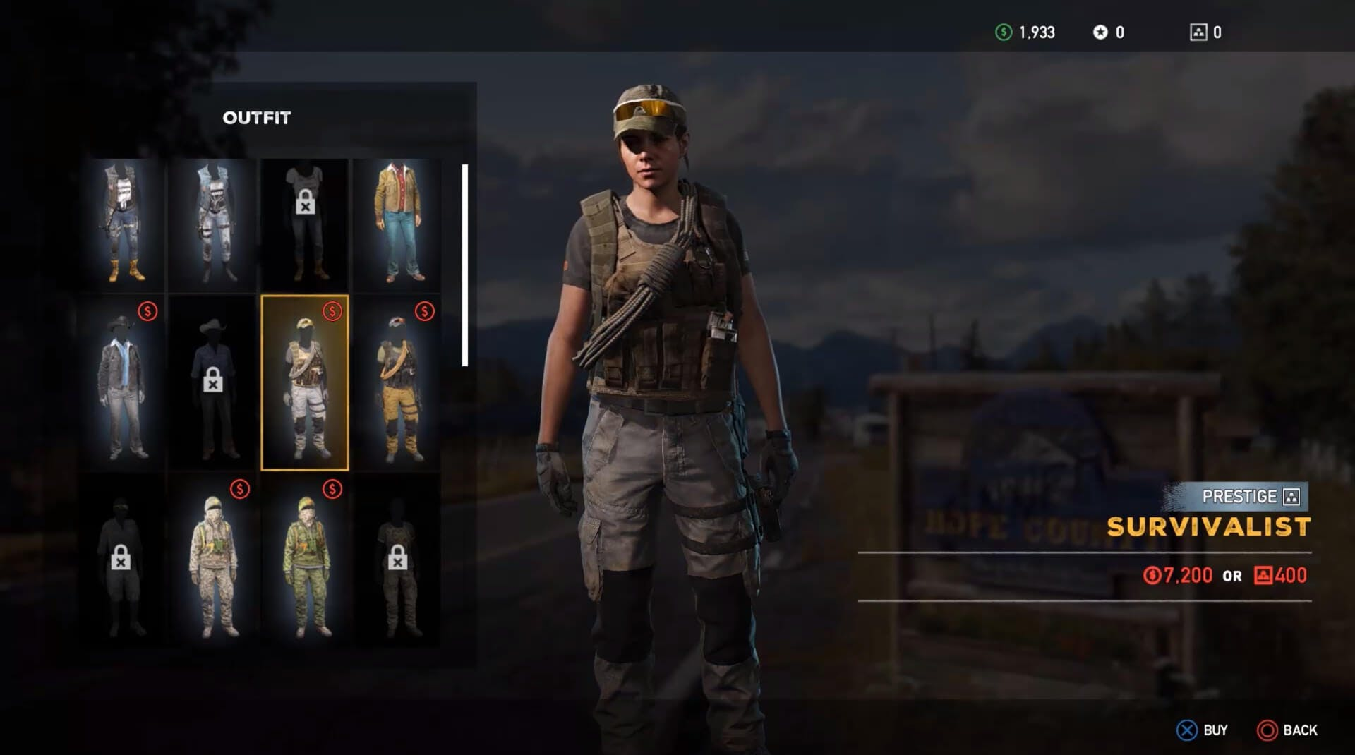 Far Cry games far cry 5 - characters