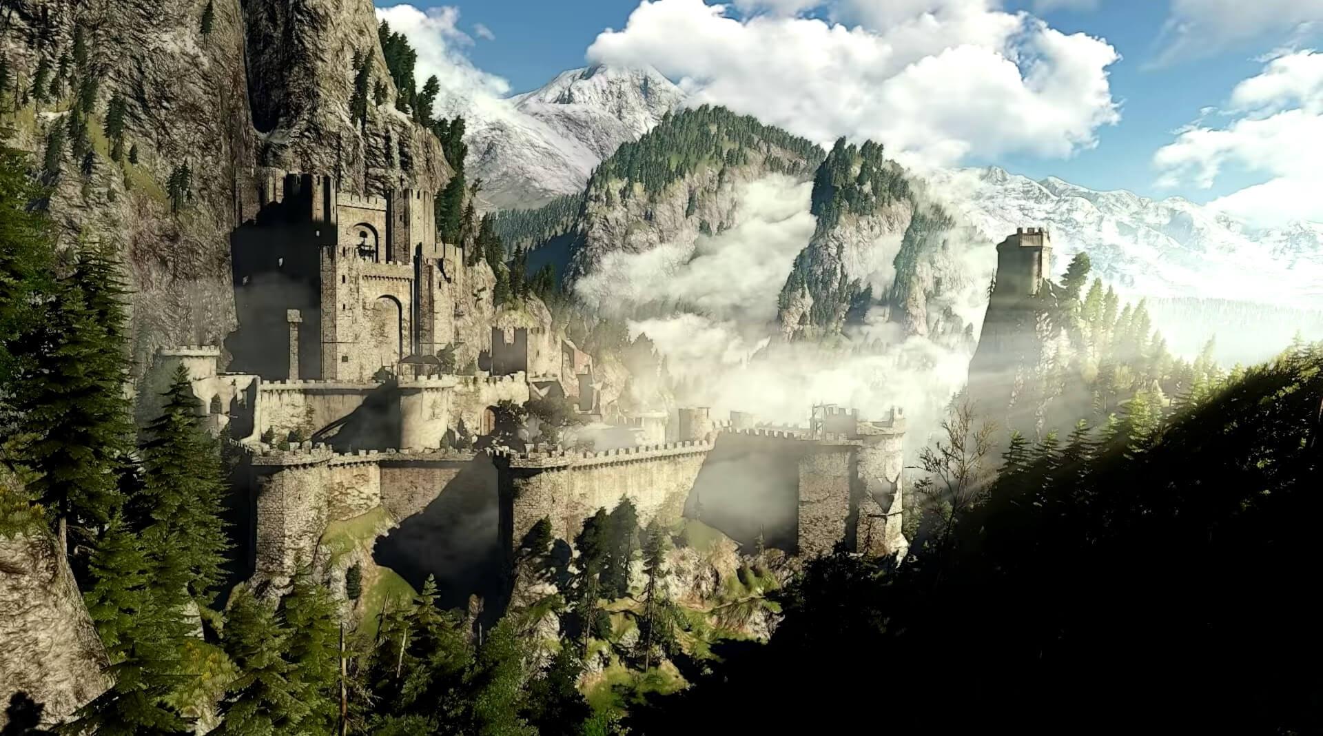 Geralt of Rivia - Kaer Morhen