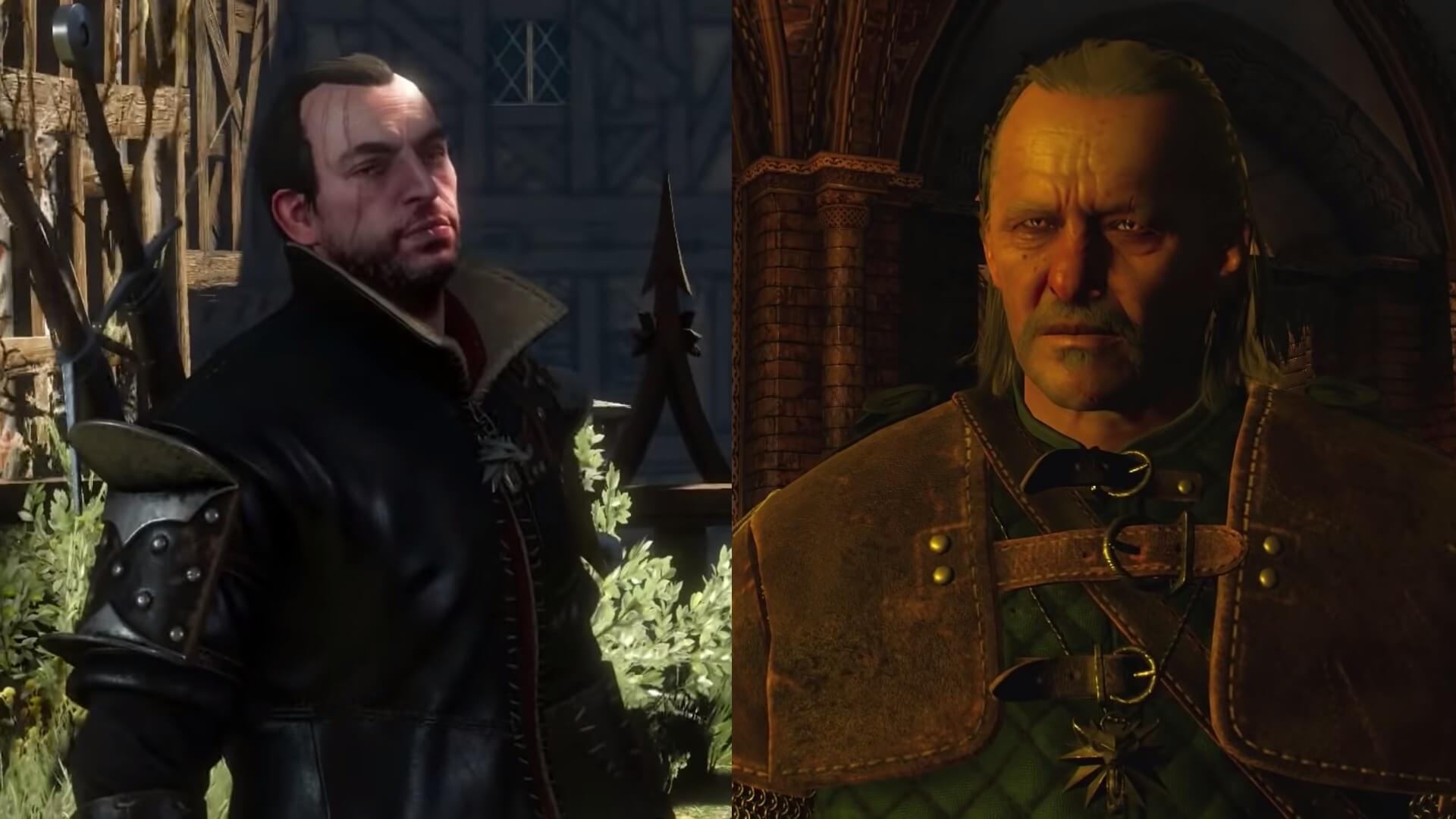 Geralt - Lambert and Vesemir