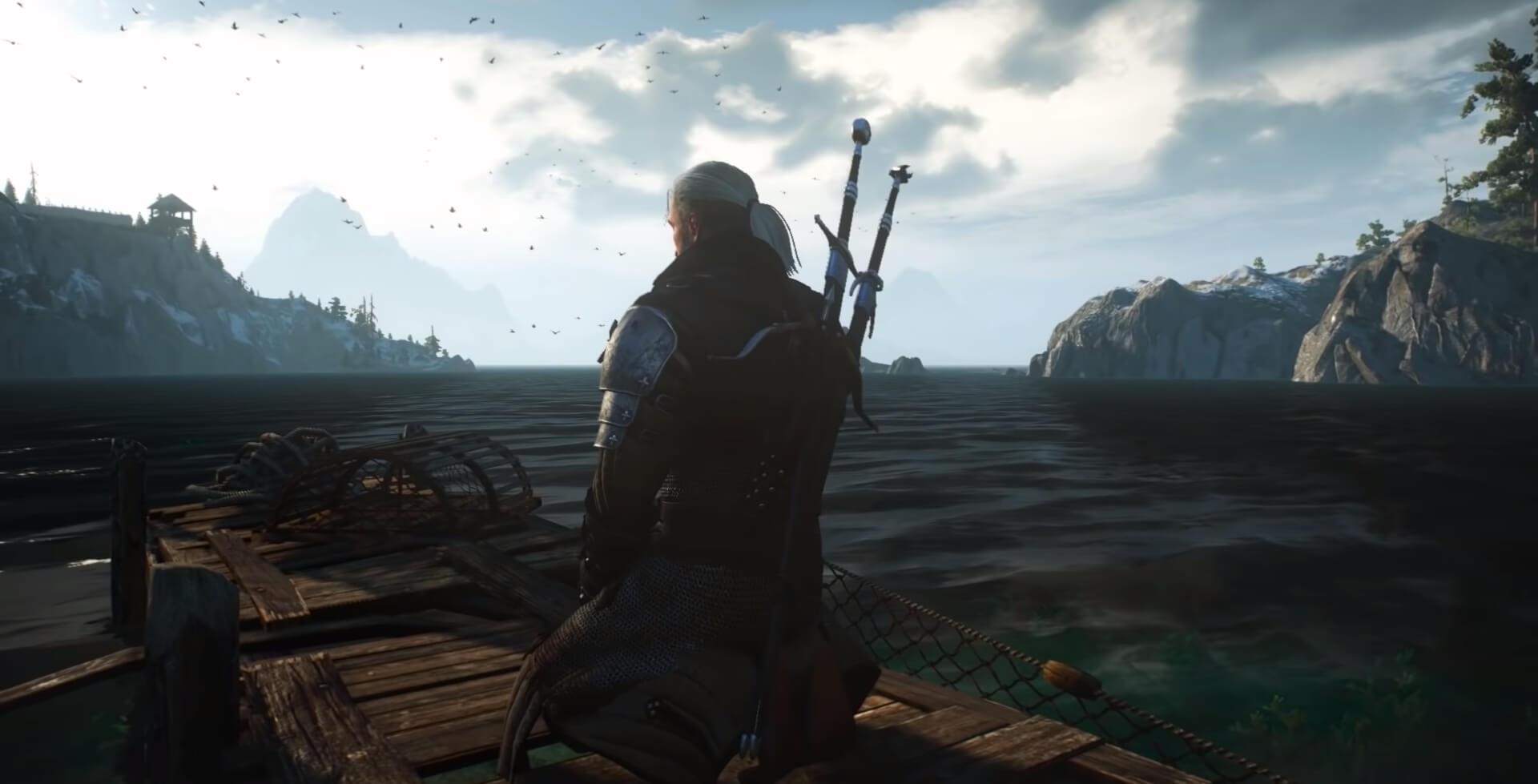 Geralt - swords