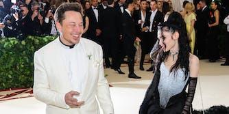 Grimes - Elon Musk