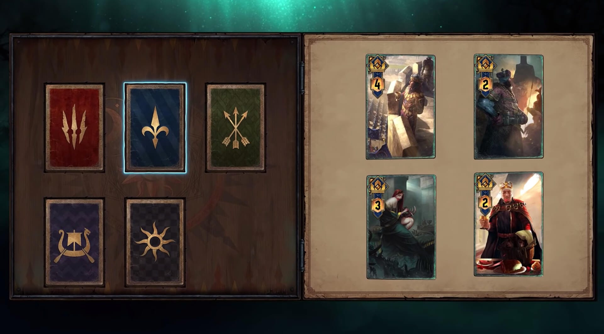 Gwent - factions
