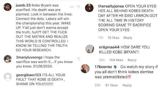 LeBron James - Kobe Bryant comments