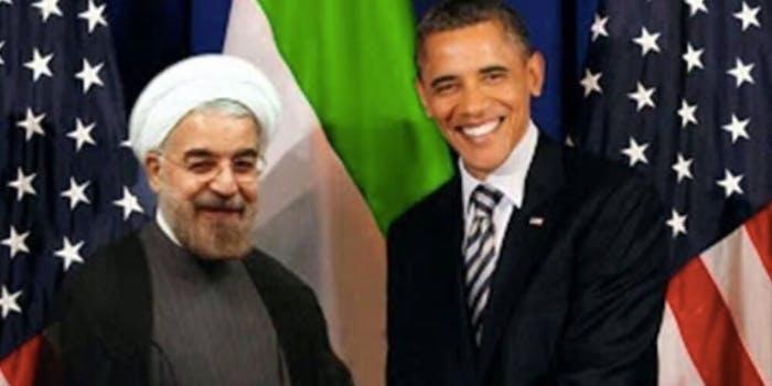Paul Gosar Iranian President Hassan Rouhani fake picture
