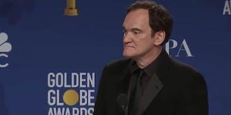 Quentin Tarantino Golden Globes 2020 speech